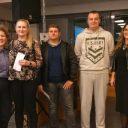 TRIBINA DJECA U PROMETU Martina Tišljar, Denis Varga, Marin Pavoković i Domagoj Mikulić nagrađeni za ljubazno ponašanje u prometu